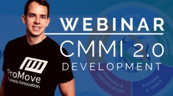 Webinar e Material CMMI Development 2.0